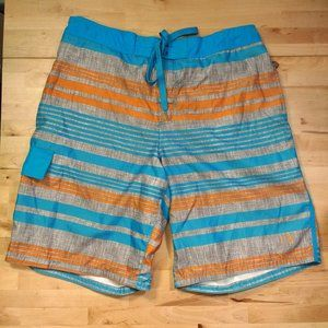 OP Ocean Pacific Lined Swimming Shorts Swim Trunks
